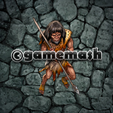 Illustration of Human Caveman, Cave Dweller, Neanderthal