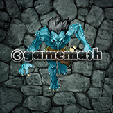 Illustration of Troll with Blue Skin